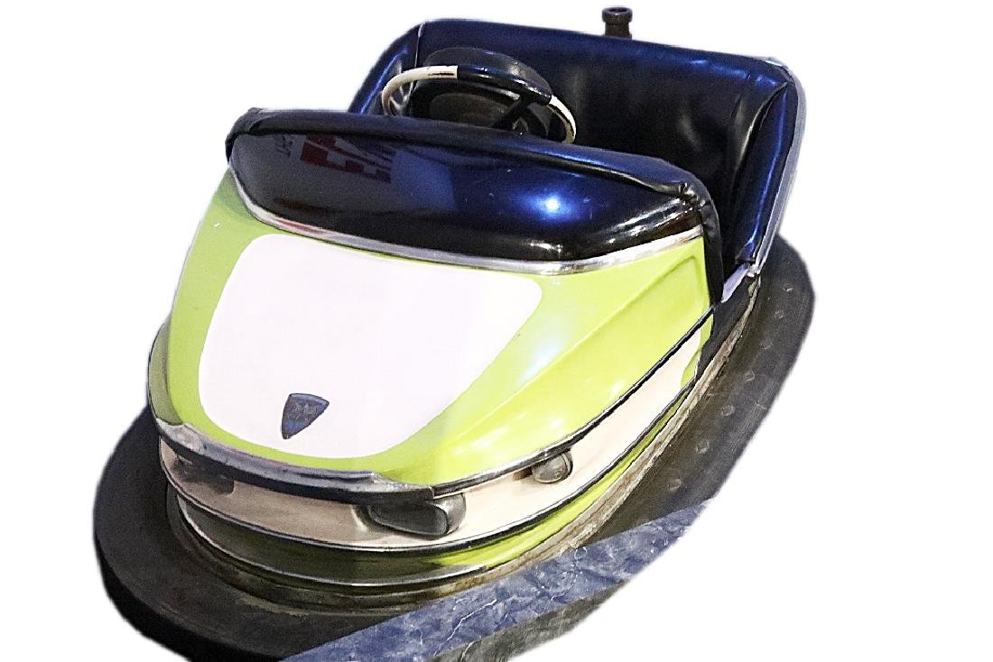 "Elvis Presley's Favorite ""Dodge 'em"" Bumper Car"
