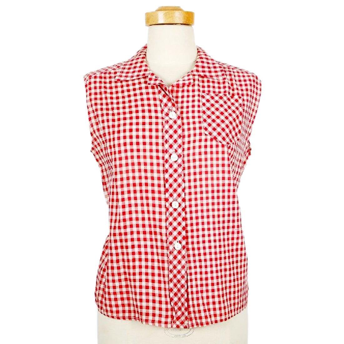 Anna Nicole Smith Checkered Shirt (Face Magazine)