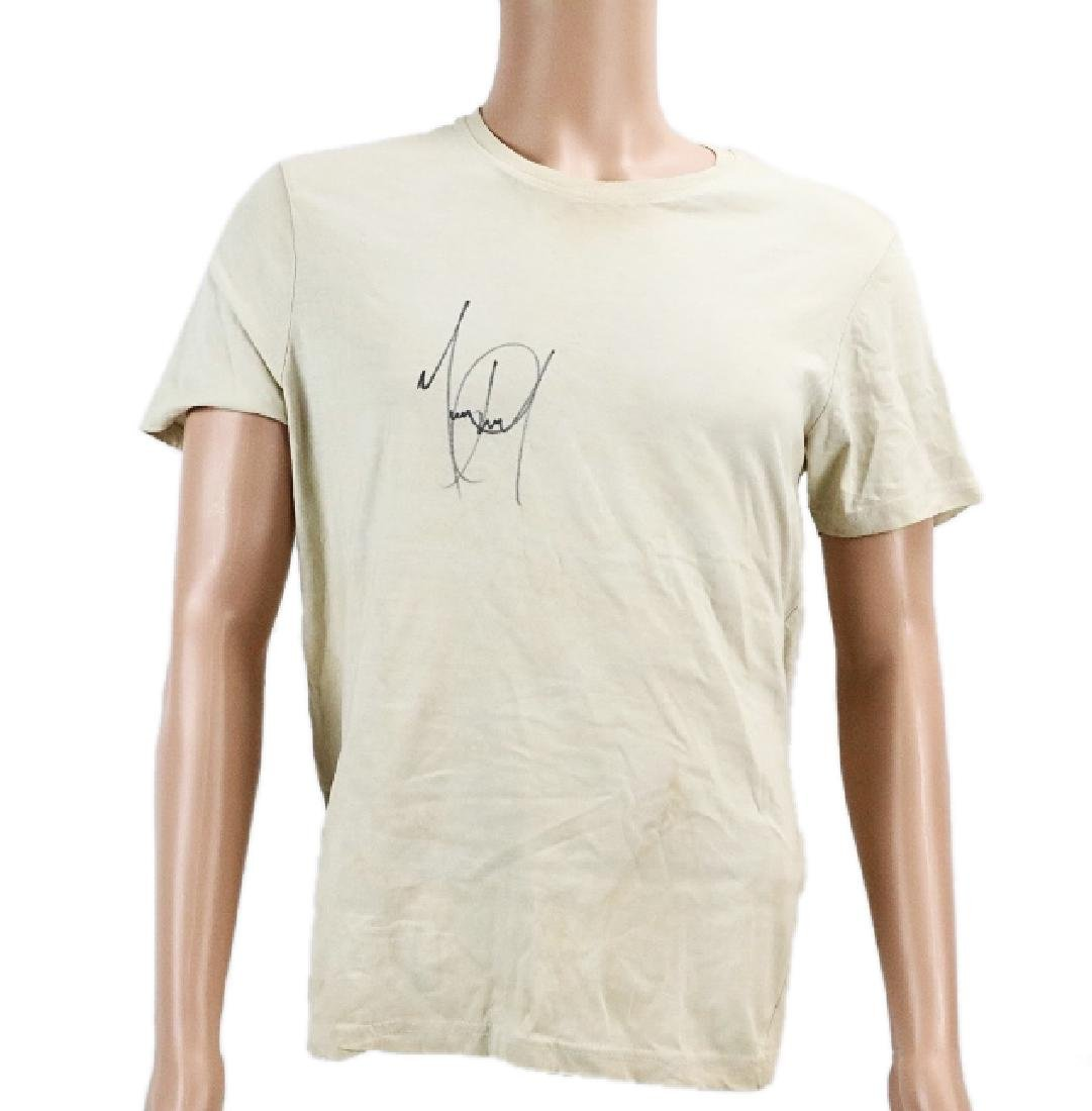 Michael Jackson's Signed Under Shirt Worn on Tour