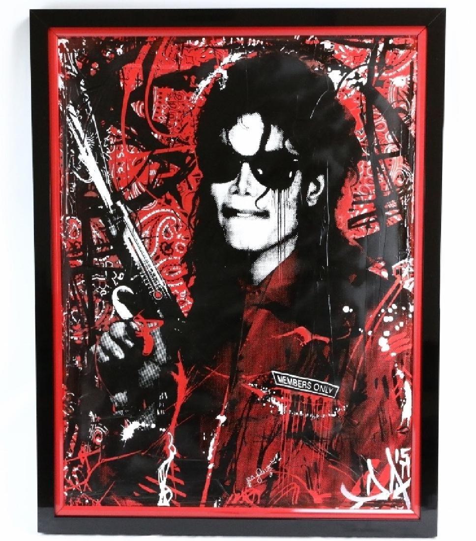 Michael Jackson-Members Only by Devon Almarinez