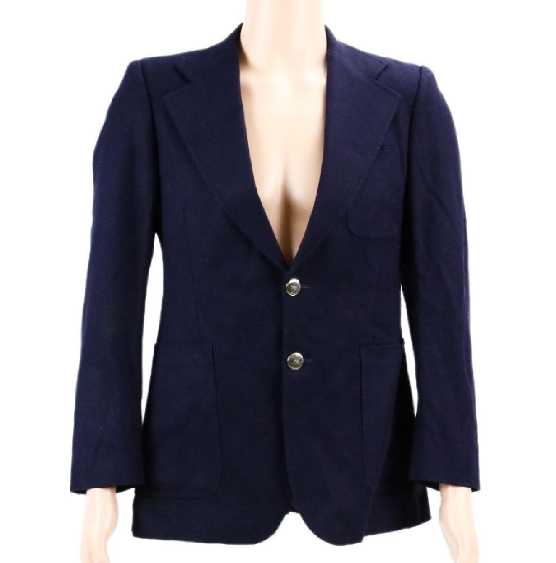 Michael Jackson's HRH Navy Blue Sport Coat W/COA