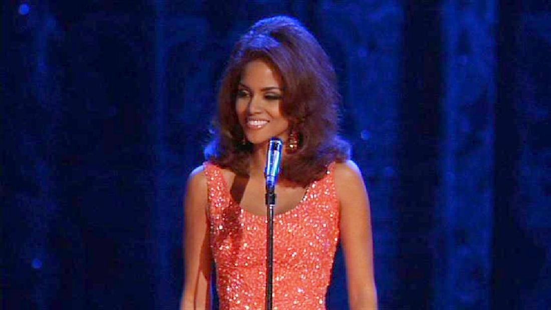 """Halle Berry's """"Why Do Fools Fall in Love"""" Gown - 9"""