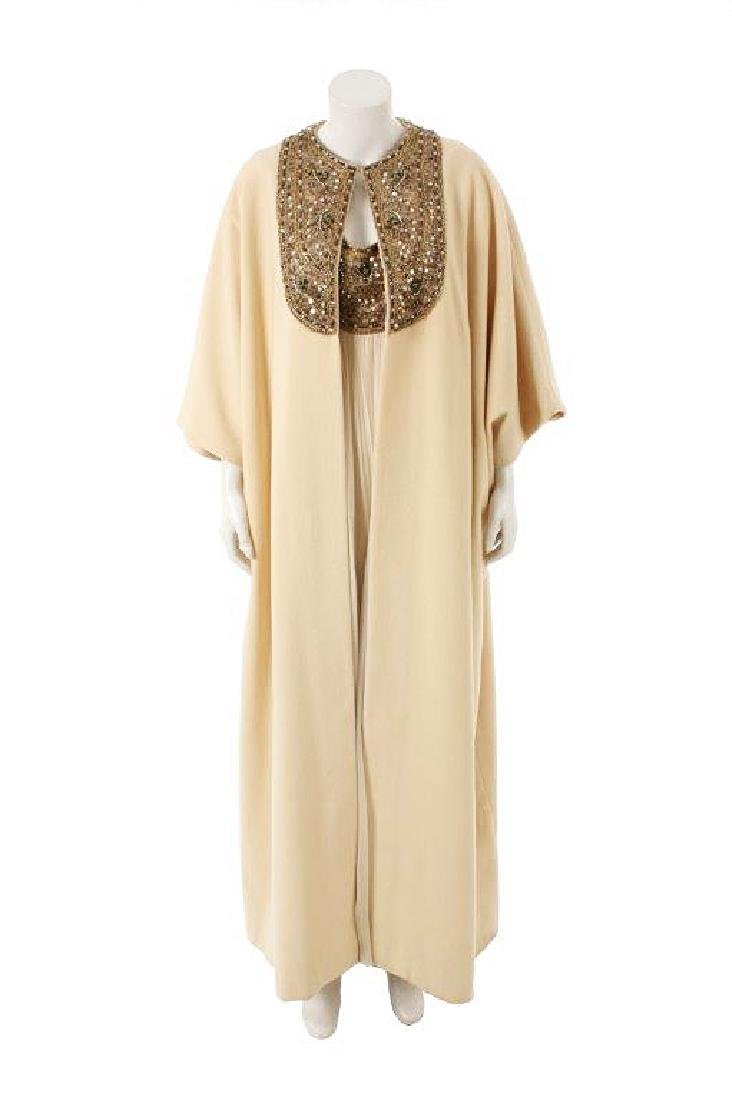 "Demi Moore's ""Bobby"" Maxi Dress & Cape W/COA"