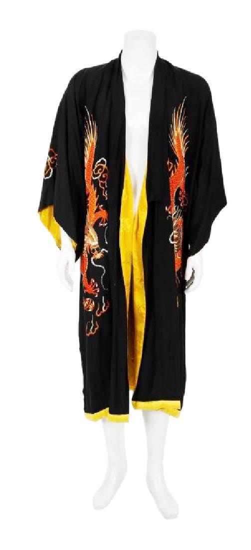 "Matthew McConaughey's ""Magic Mike"" Black Kimono"