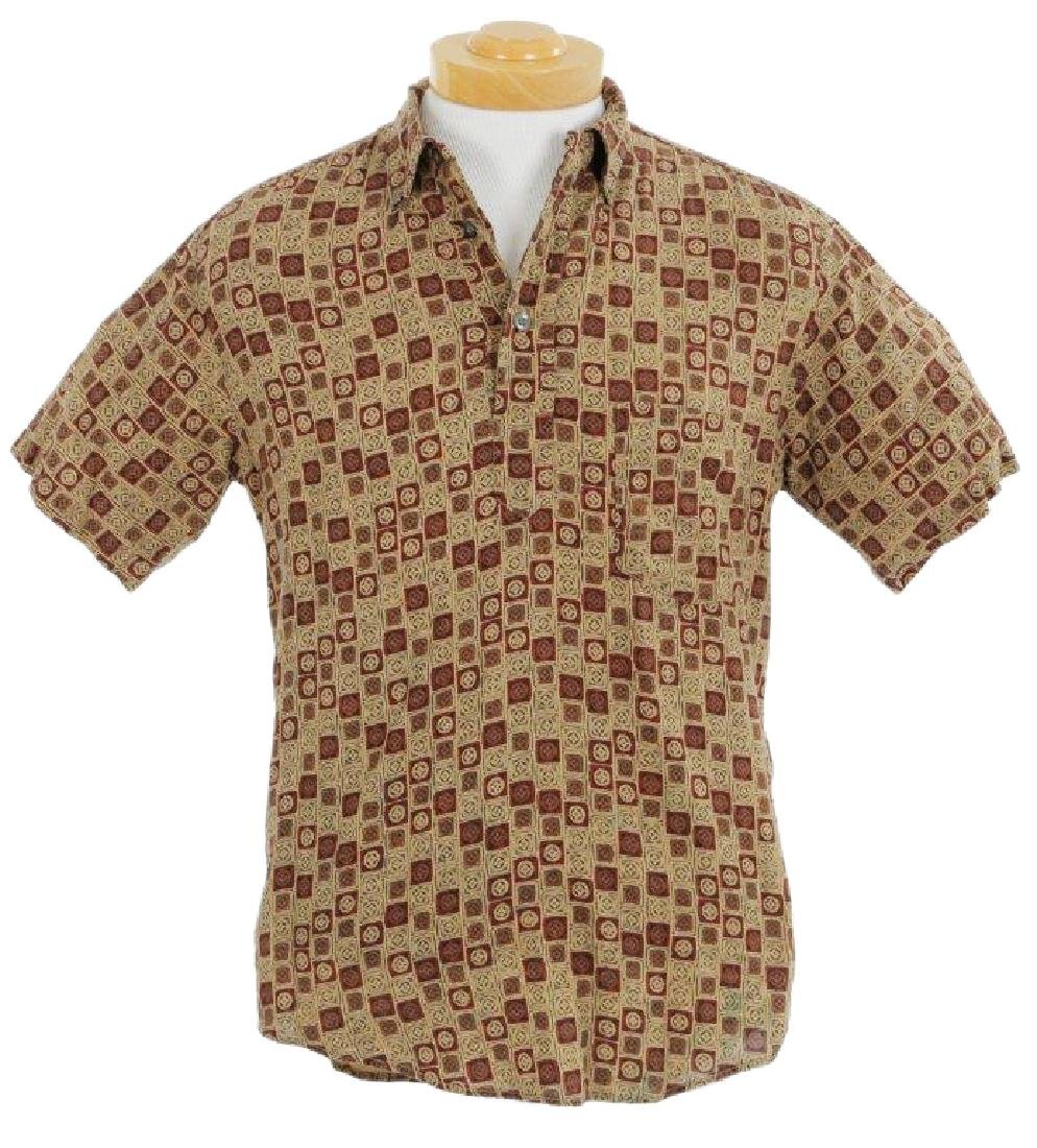 "Johnny Depp's ""Blow"" Brown Button Up Shirt W/COA"
