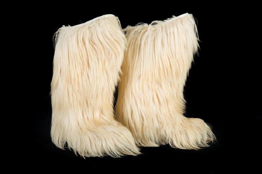 "Mike Myers' ""Austin Powers"" Faux Fur Boots"