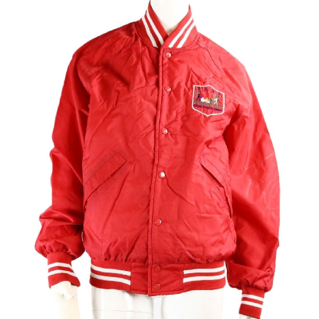 Michael Jackson's Signed Jacket From of Dr. Klein
