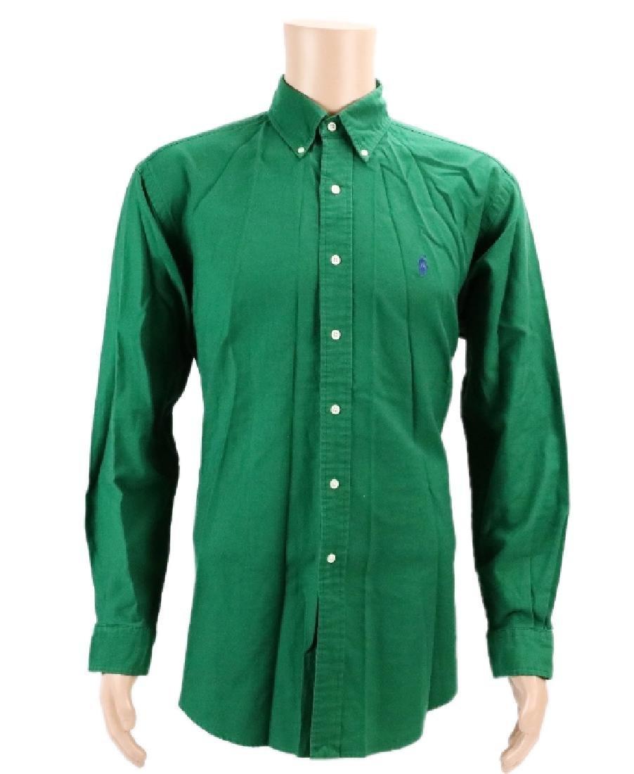 Michael Jackson's Green Ralph Lauren Shirt W/COA