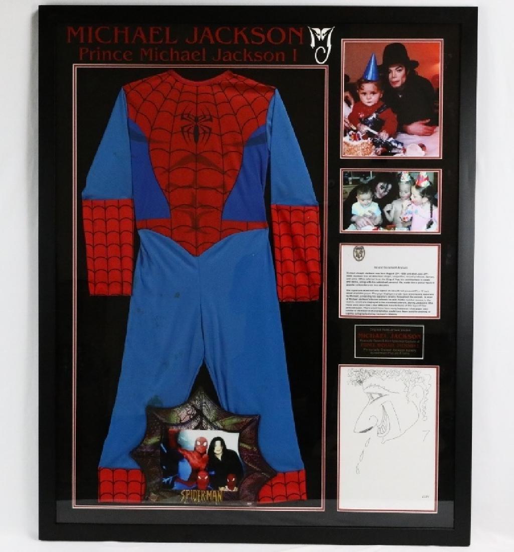Prince Michael Jackson's Spiderman Suit W/COA