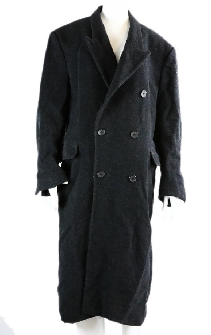 Michael Jackson's Long Black Overcoat W/COA