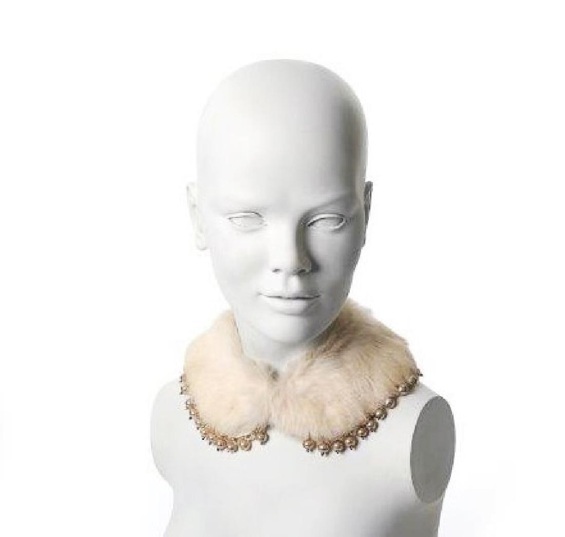 "Katy Perry's ""Killer Queen"" Commercial Fur Collar"