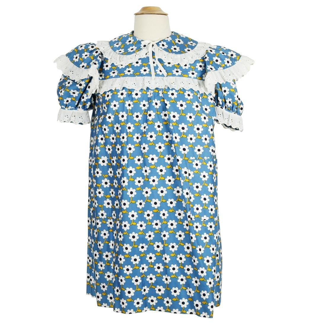 """Joan Rivers' """"Fashion Police"""" Blue Dress W/COA"""