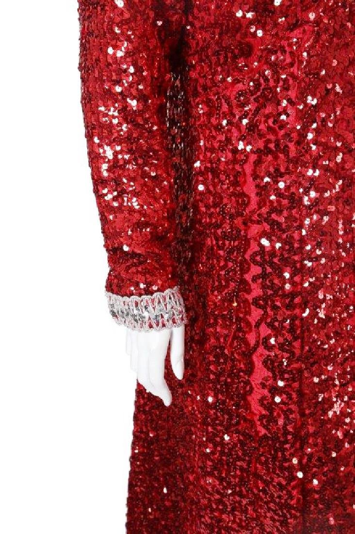 """Octavia Spencer's """"Paradise"""" Sequin Gown & Boa - 10"""