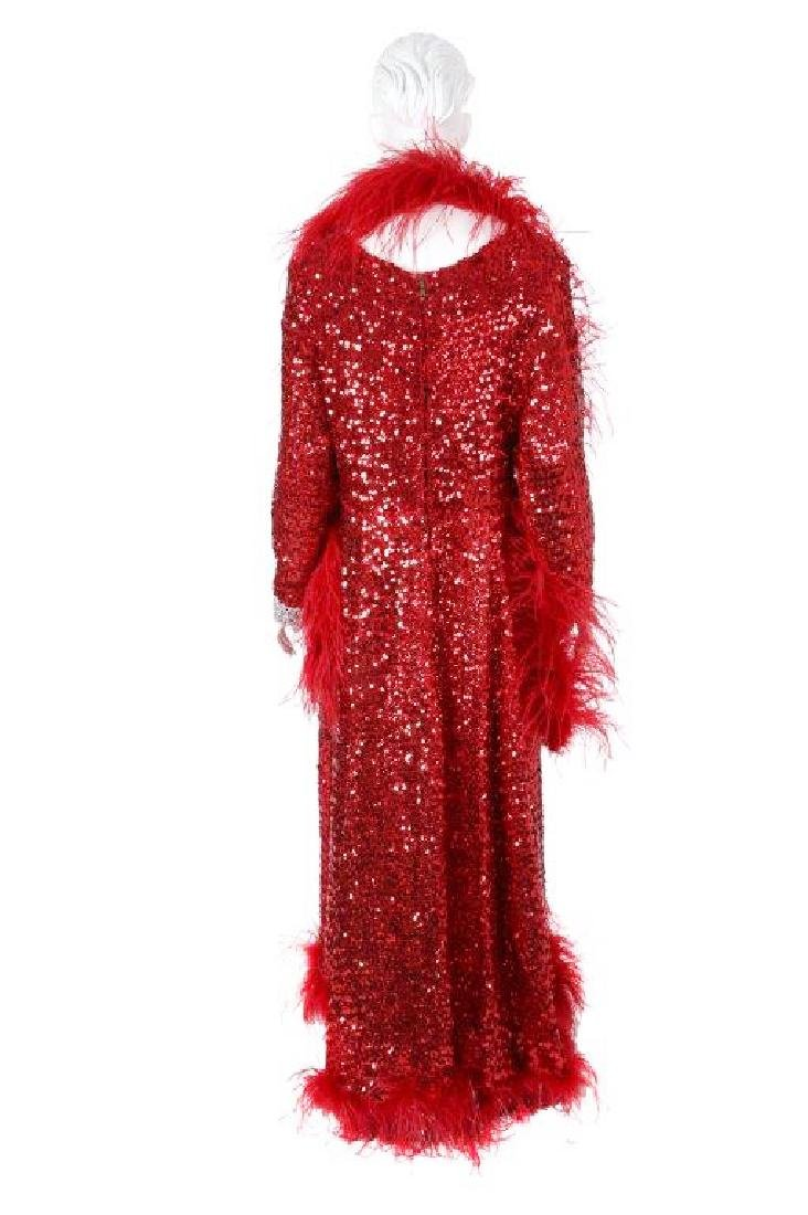 "Octavia Spencer's ""Paradise"" Sequin Gown & Boa - 3"