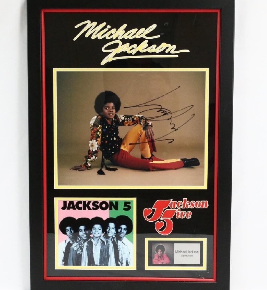 Michael Jackson Signed Jackson 5 Photograph