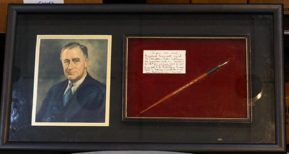 President Roosevelt's Executive Order Fountain Pen