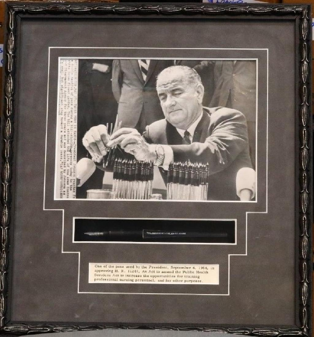 Lyndon B. Johnson's Presidential Fountain Pen