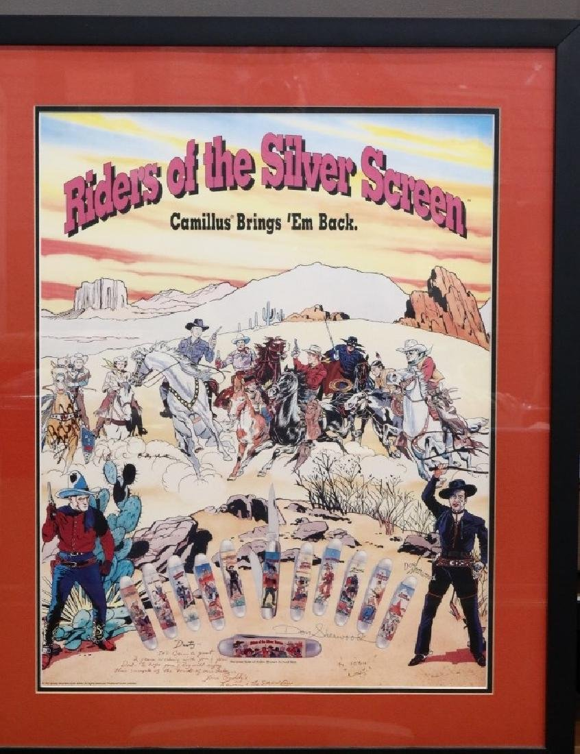 Riders of the Silver Screen Autographed Poster