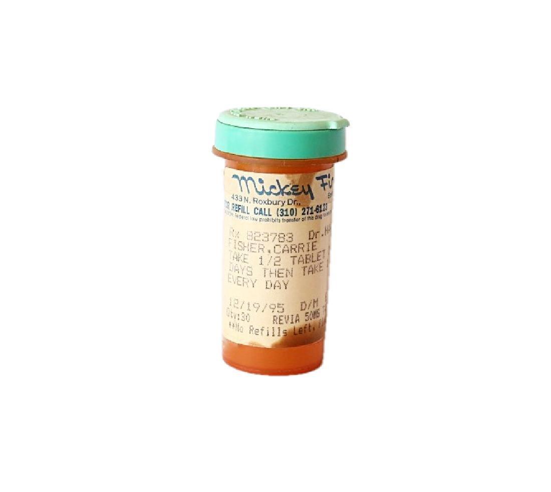 Carrie Fisher's Prescription Pill Bottle