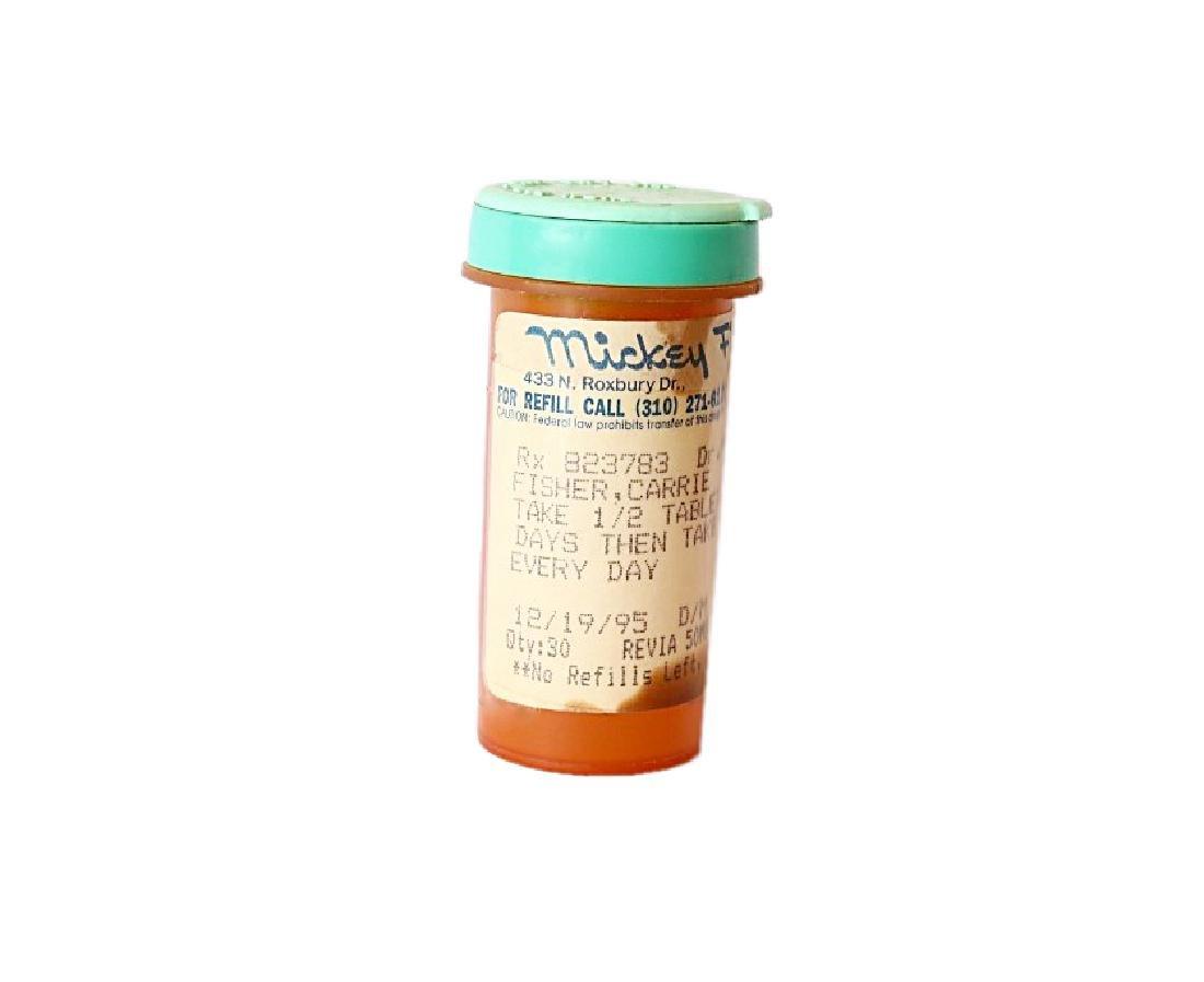 Carrie Fisher's Prescription Pill Bottle - 2