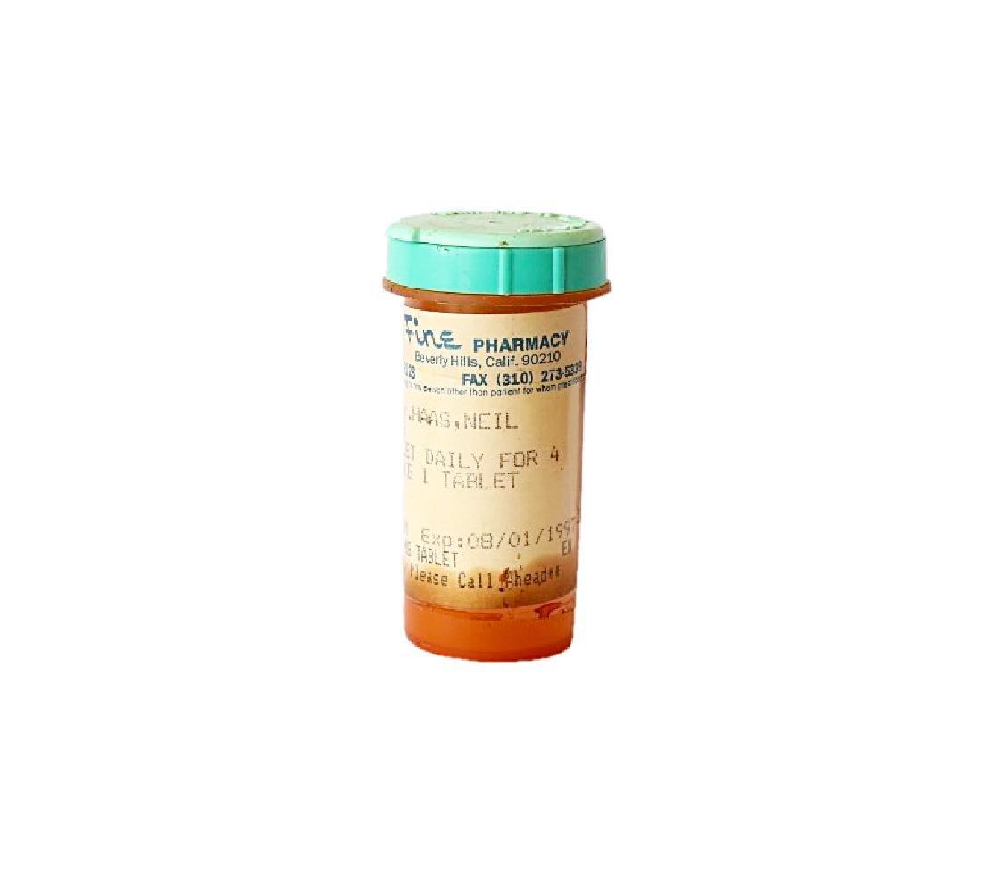 Carrie Fisher's Prescription Pill Bottle - 3