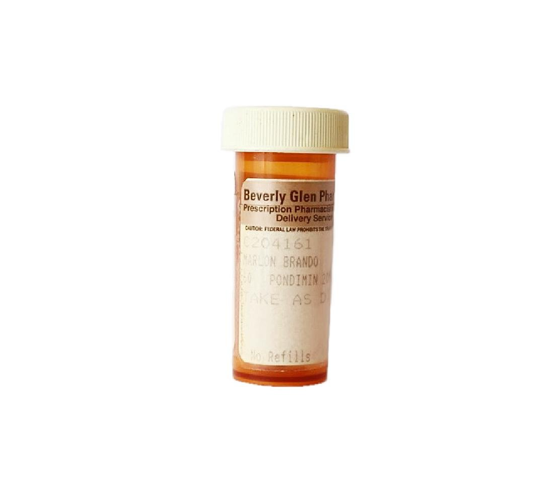 Marlon Brando's Prescription Pill Bottle