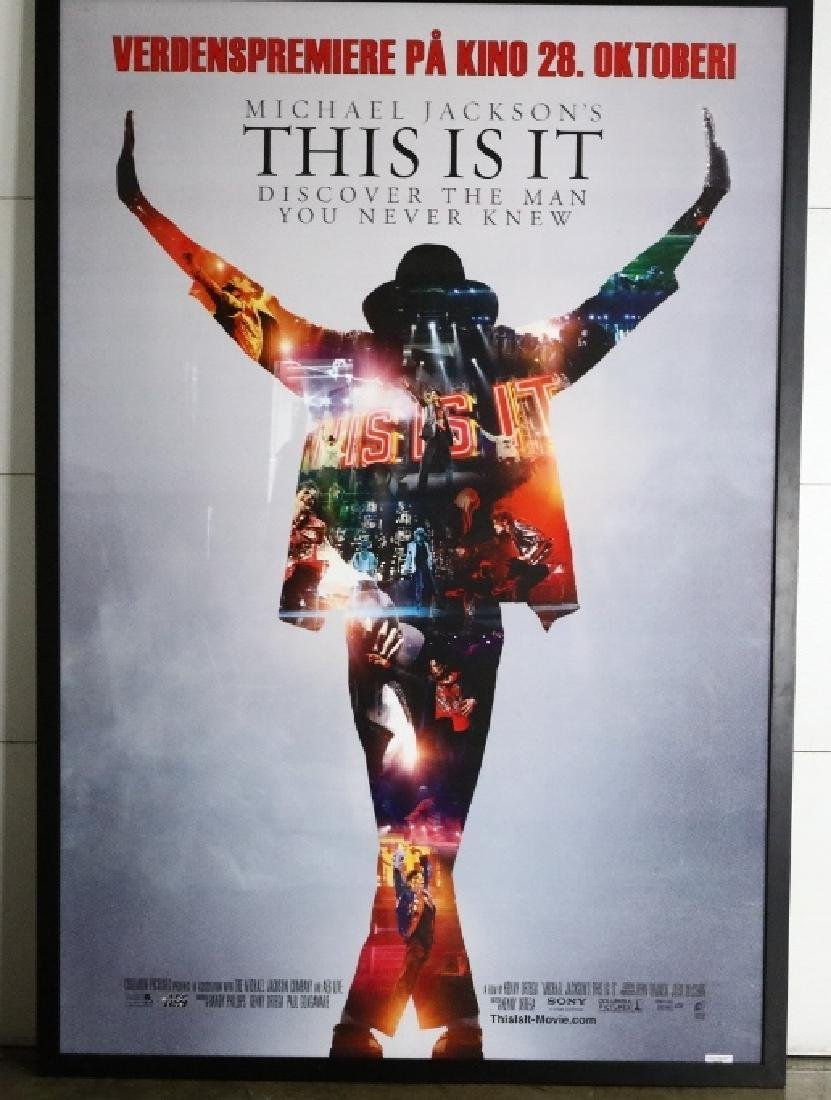 """Michael Jackson's This Is It"" Norway Promo Poster"