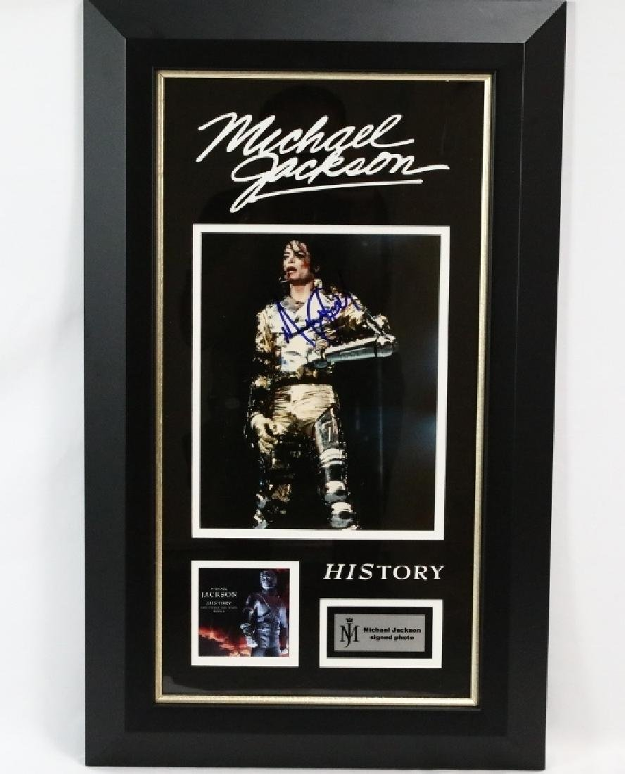 "Michael Jackson ""HIStory"" Signed Photo W/COA"