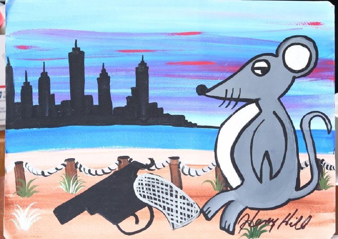 "Henry Hill (""Goodfellas"") ""Rat"" Original Painting"