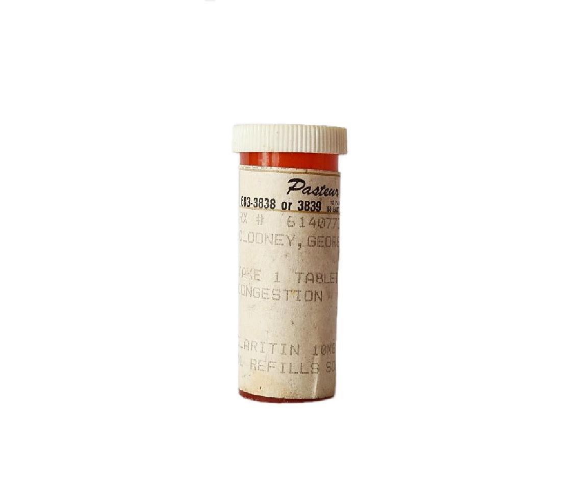 George Clooney's Prescription Pill Bottle