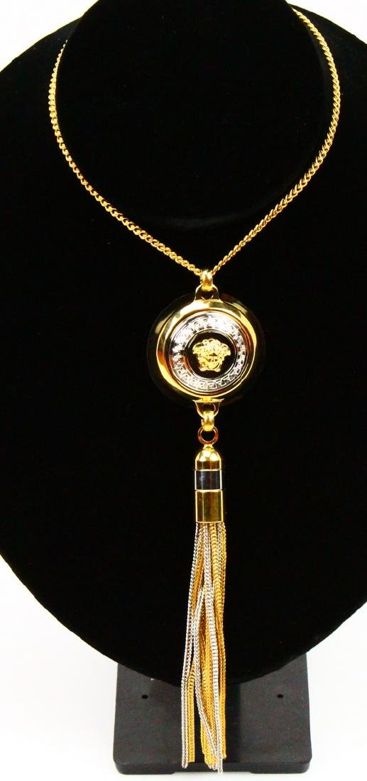 """Gianni Versace Vanitas"" Medusa Head 25"" Necklace"
