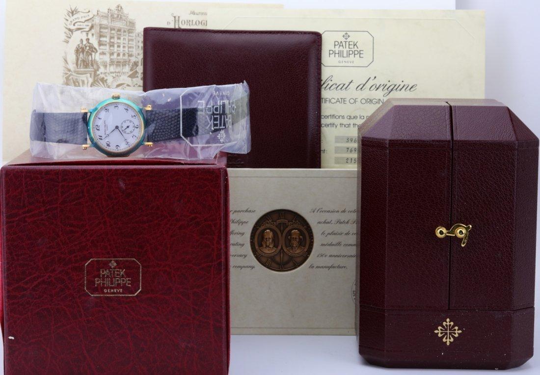 Patek Philippe 150th Anniversary 18K Watch SEALED