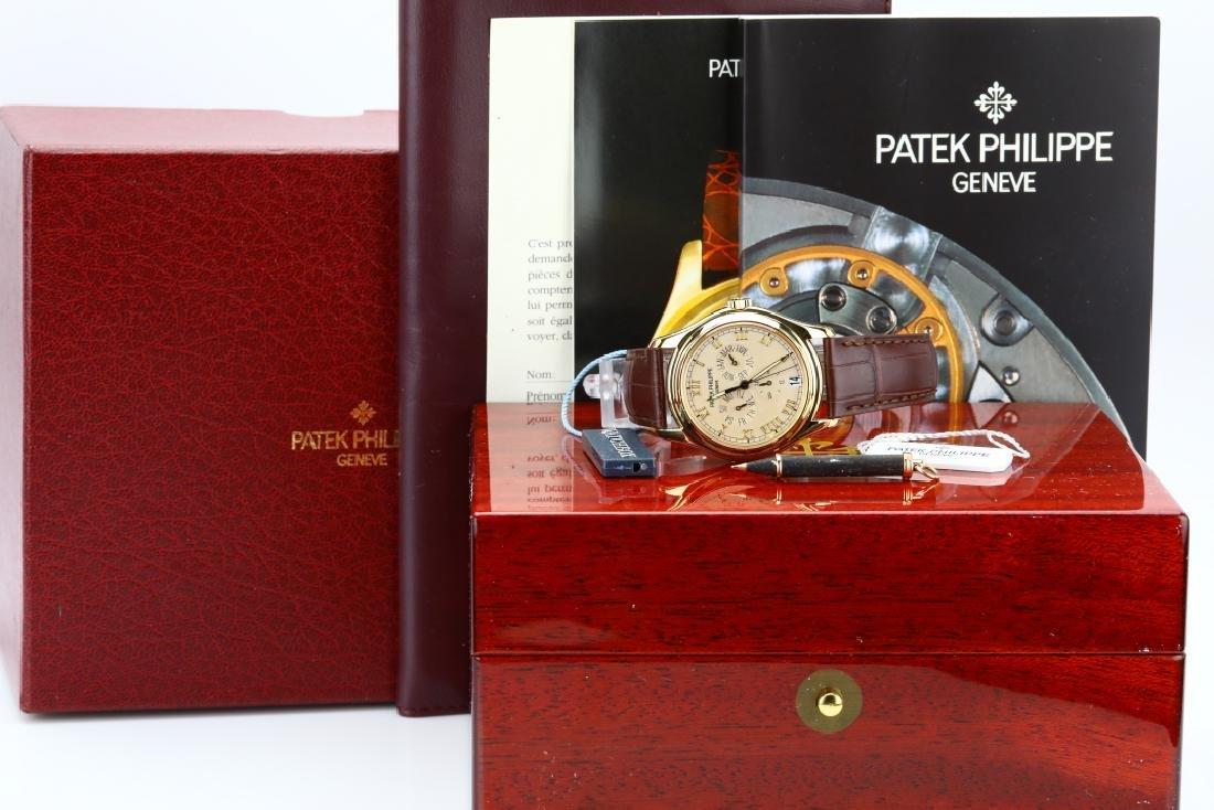 Patek Philippe 18K Annual Calendar Watch (5035J)