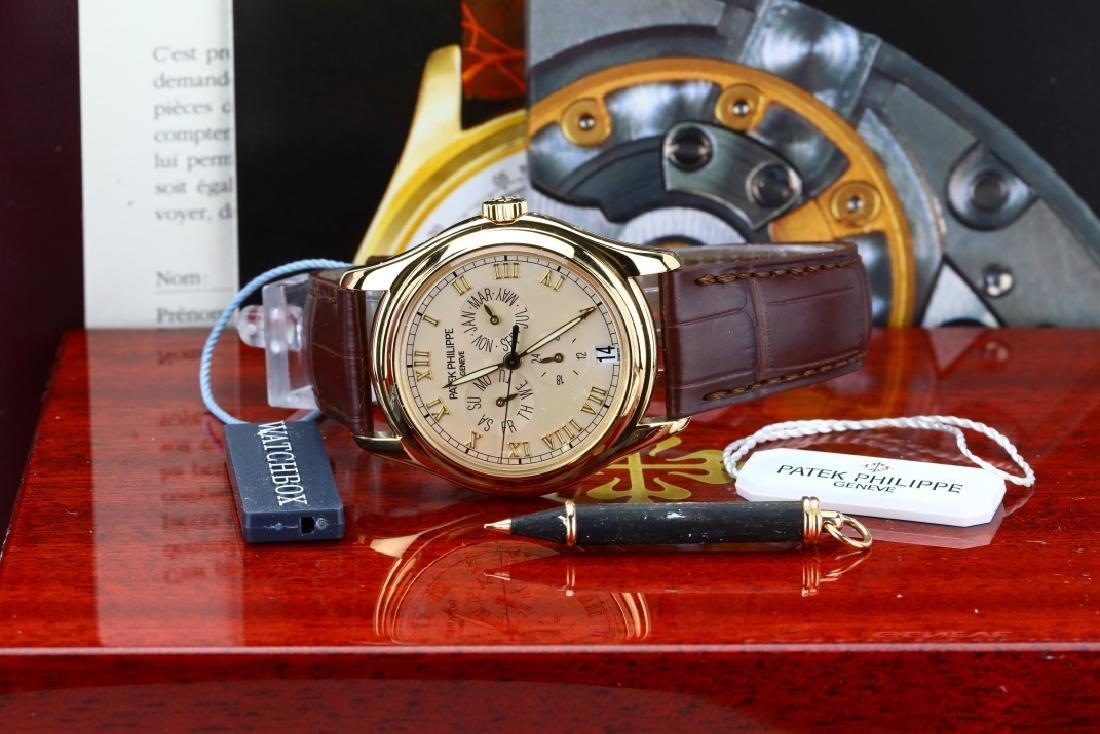 Patek Philippe 18K Annual Calendar Watch (5035J) - 2