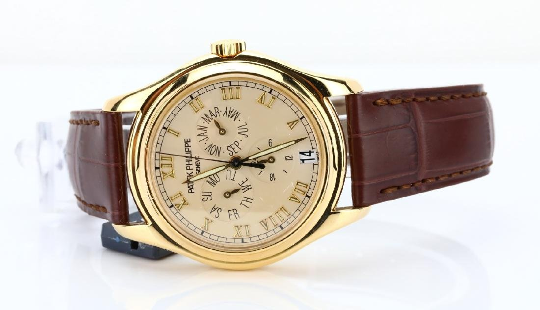 Patek Philippe 18K Annual Calendar Watch (5035J) - 3