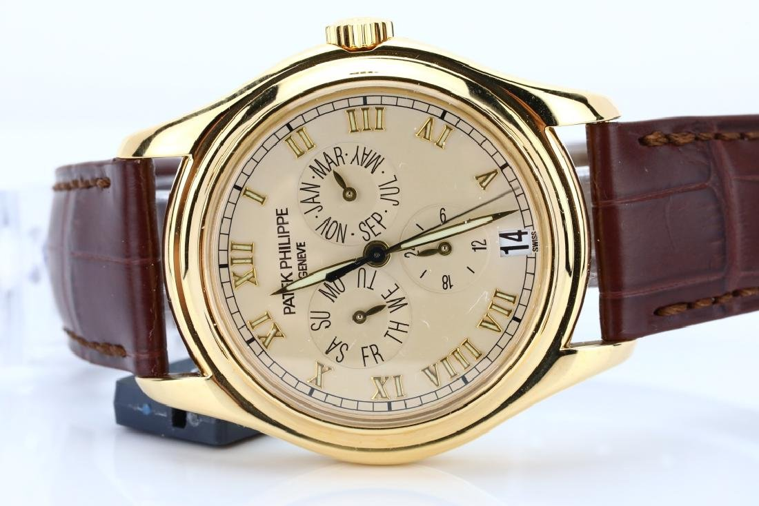 Patek Philippe 18K Annual Calendar Watch (5035J) - 4