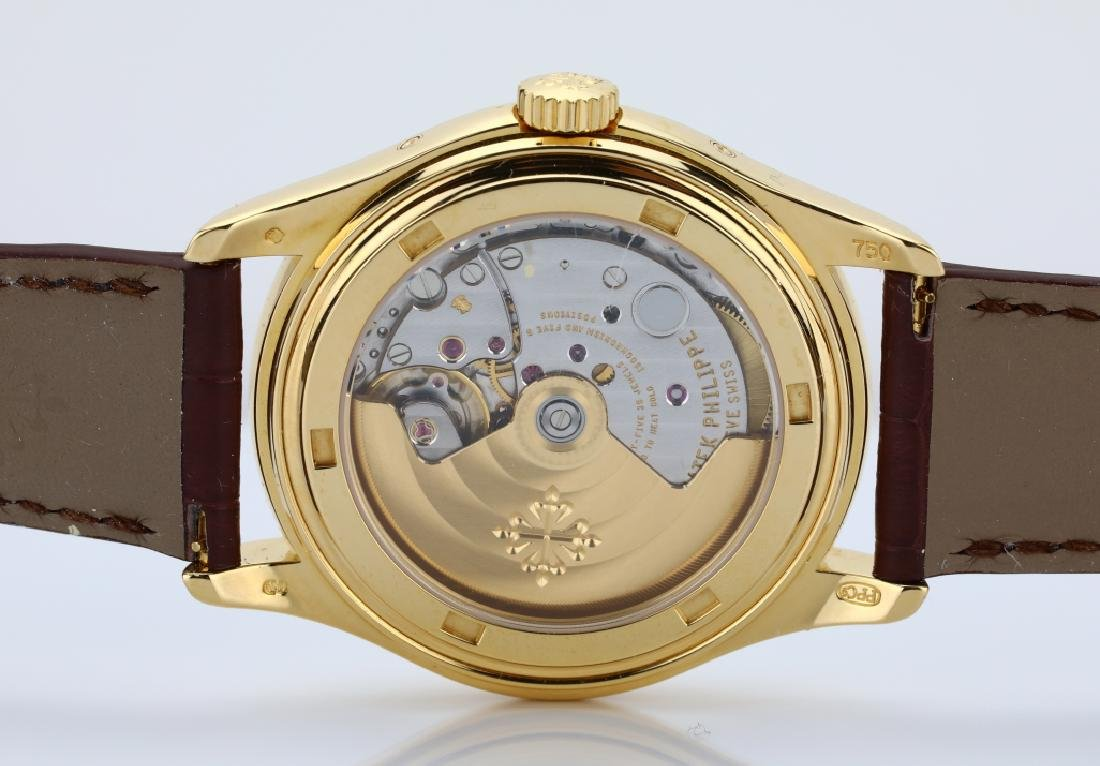 Patek Philippe 18K Annual Calendar Watch (5035J) - 9