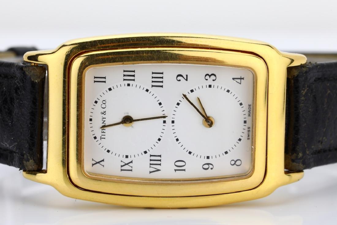 Tiffany & Co. 18K Dual Time Zone Watch - 2