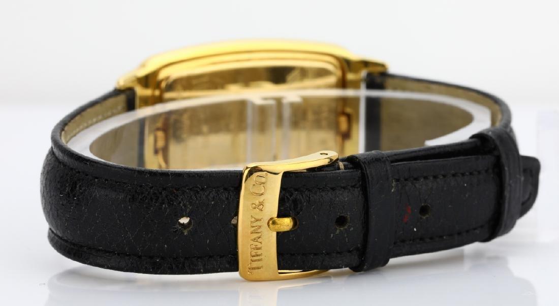 Tiffany & Co. 18K Dual Time Zone Watch - 4