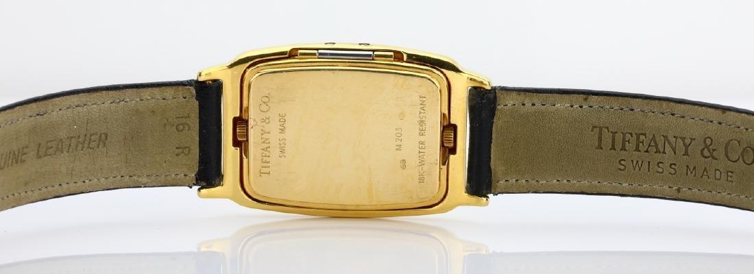 Tiffany & Co. 18K Dual Time Zone Watch - 6