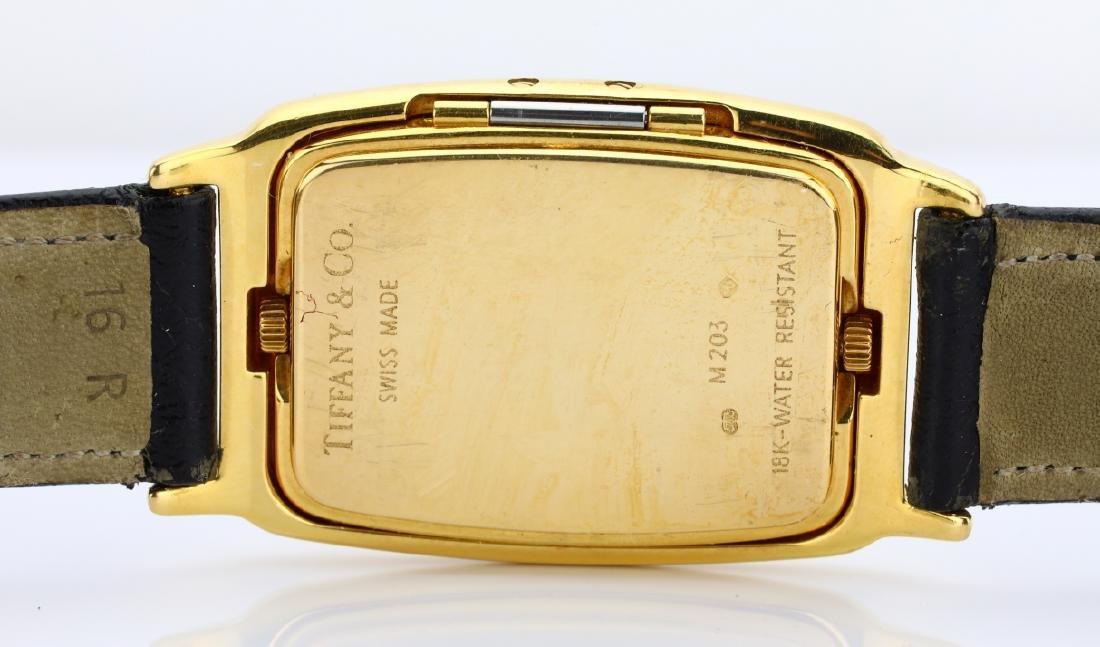 Tiffany & Co. 18K Dual Time Zone Watch - 7