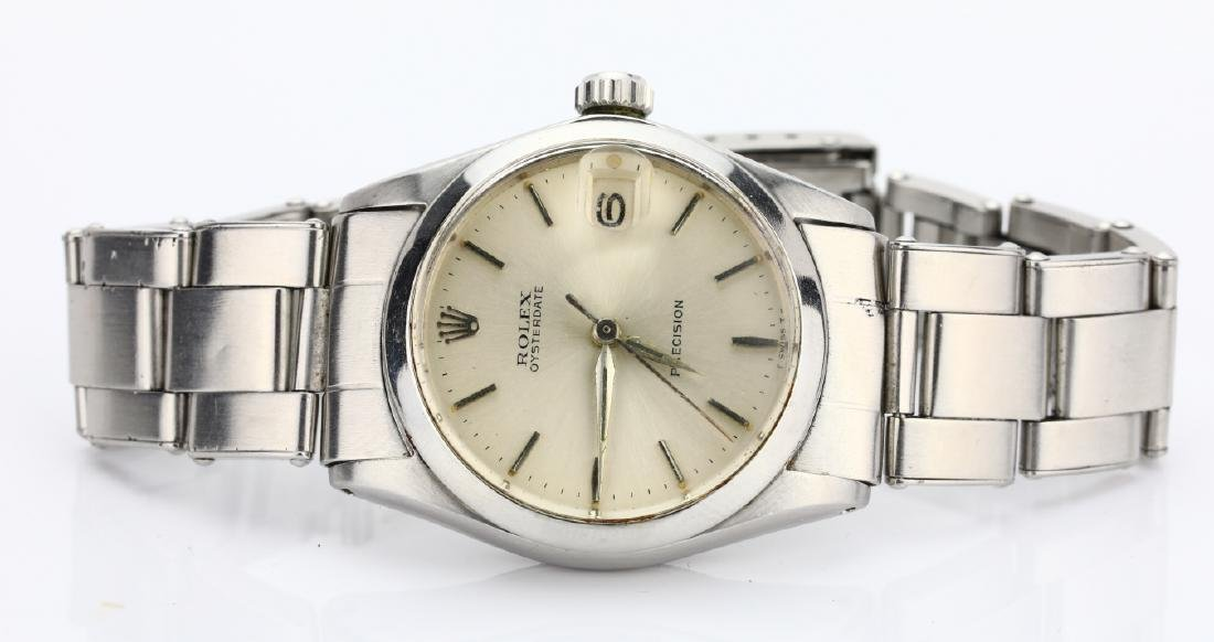 Rolex 1966 Oyster Date Precision 30mm SS Watch