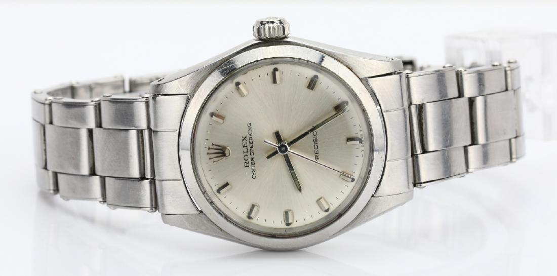 Rolex 1968 Oyster Speedking Precision 30mm SS Watch