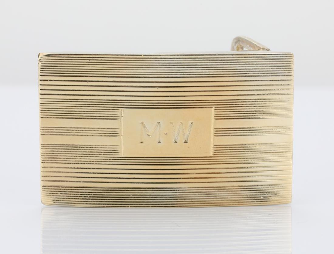 Tiffany & Co. Vintage Sterling Silver Belt Buckle