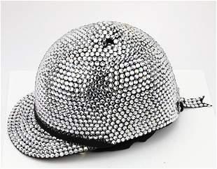 Michael Jackson's Swarovski Crystal Riding Helmet