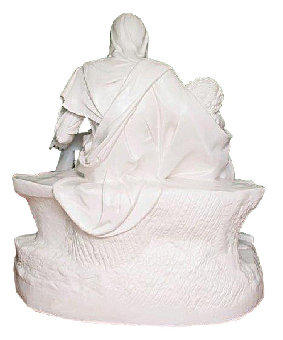"""Pieta"" by Michangelo Marble Replica W/Medici Seal - 10"