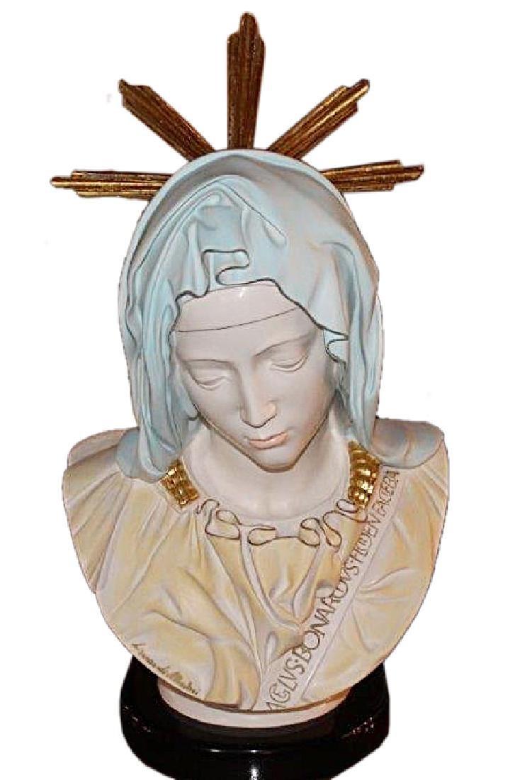 """Head of Madonna"" From Pieta by Lorenzo de' Medici"