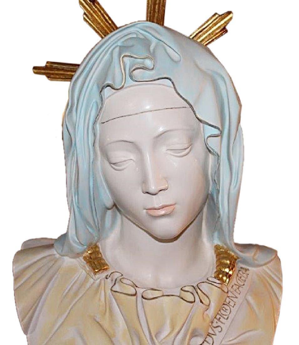 """Head of Madonna"" From Pieta by Lorenzo de' Medici - 2"
