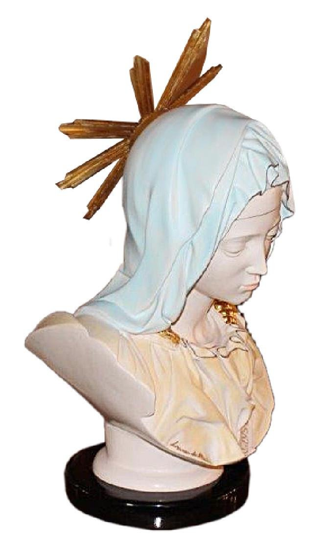 """Head of Madonna"" From Pieta by Lorenzo de' Medici - 5"