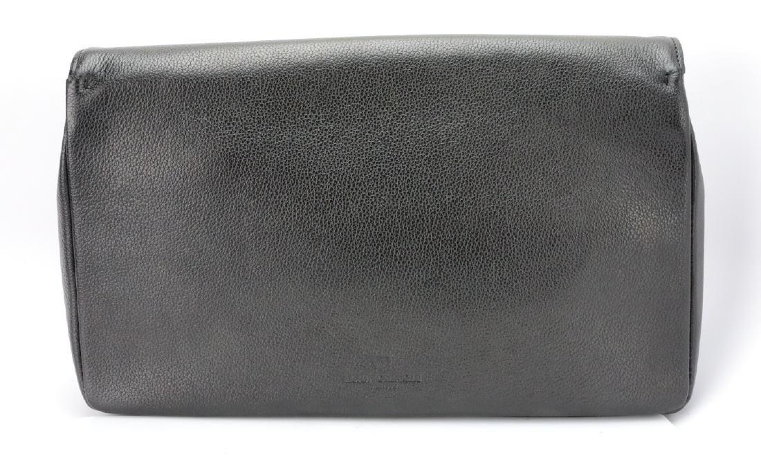 Bruno Magli Black Calf Leather Maggie Clutch - 3